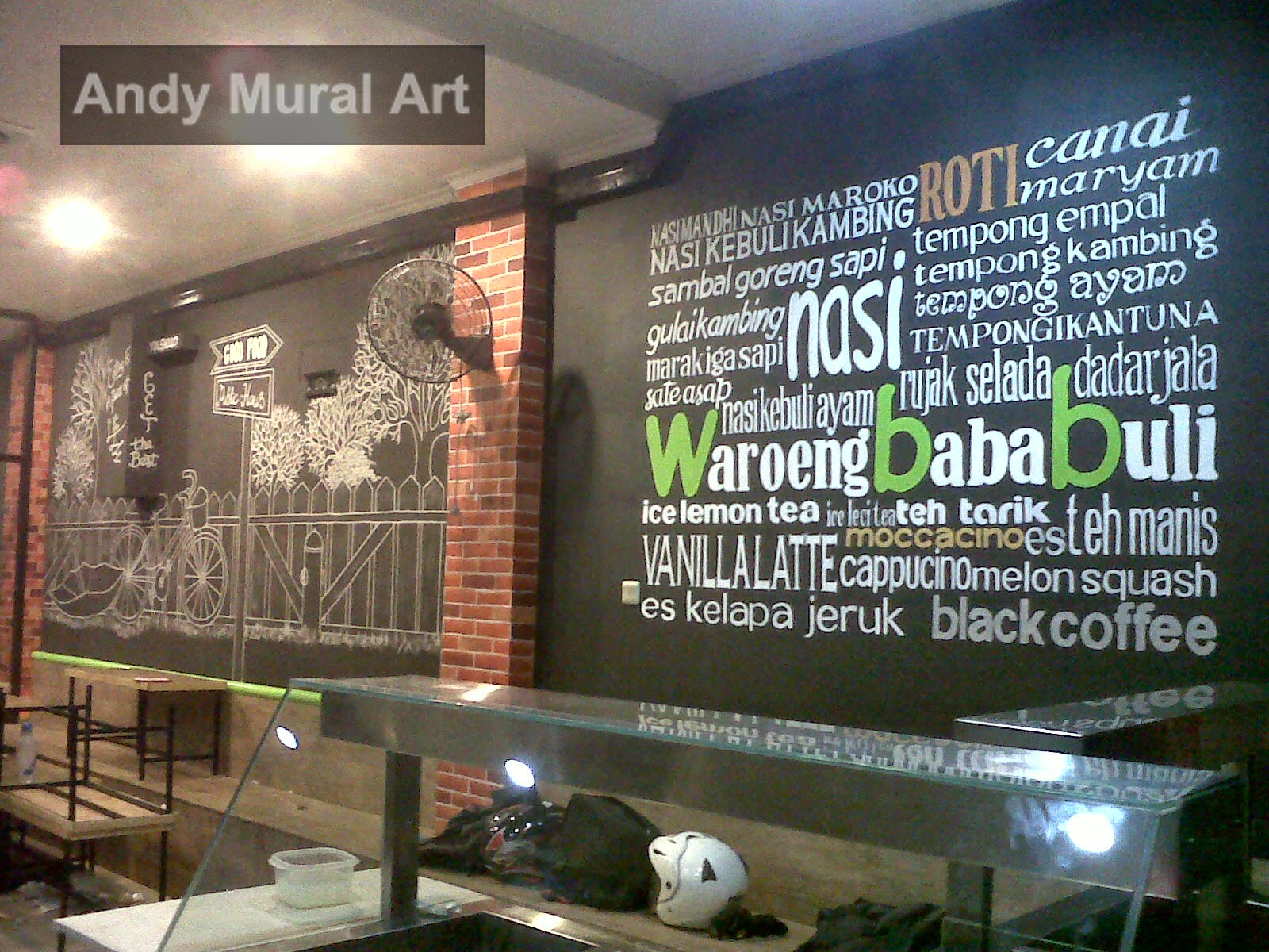 Lukisan Cafe Dan Restoran Masa Kini  Jasa Lukis Dinding