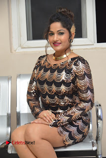 Actress Madhavi Latha Pictures in Short Dress at On Mona Birthday Premiere 0043