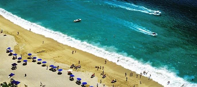 Playa Pichilingue em Acapulco