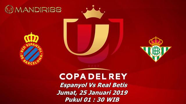 Prediksi Espanyol Vs Real Betis, Jumat 25 Januari 2019 Pukul 01:30 WIB
