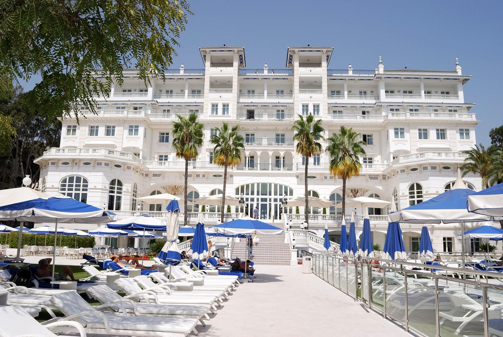 palacio miramar hotel malaga spain
