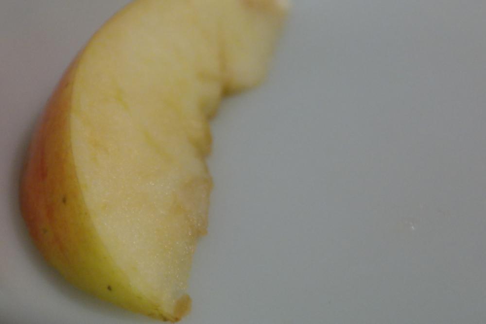Slice of apple