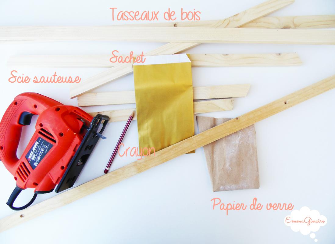 emmaginaire support en bois pour calendrier de l 39 avent. Black Bedroom Furniture Sets. Home Design Ideas