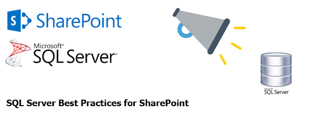 sql server best practices for sharepoint