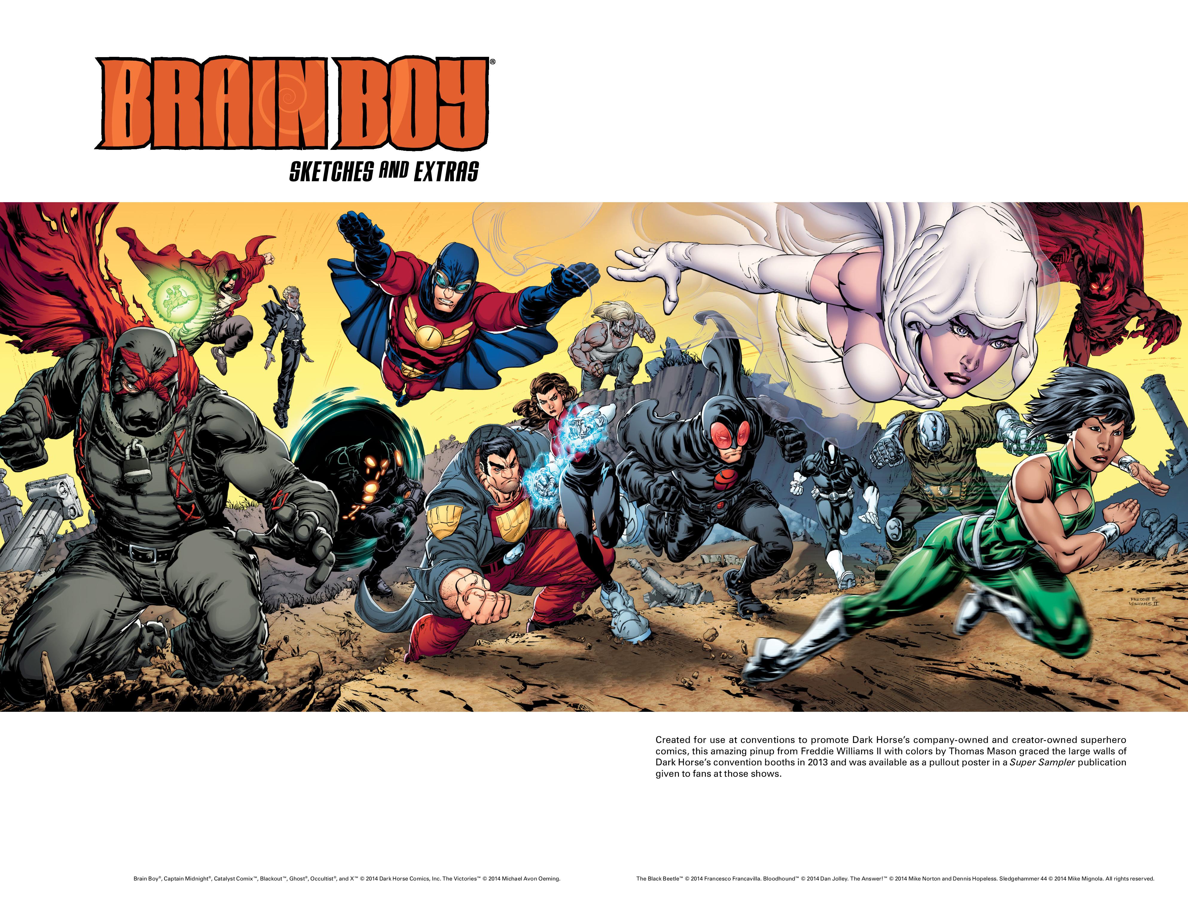 Read online Brain Boy:  The Men from G.E.S.T.A.L.T. comic -  Issue # TPB - 103