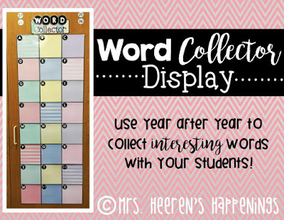 https://www.teacherspayteachers.com/Product/Word-Collector-Display-2625821
