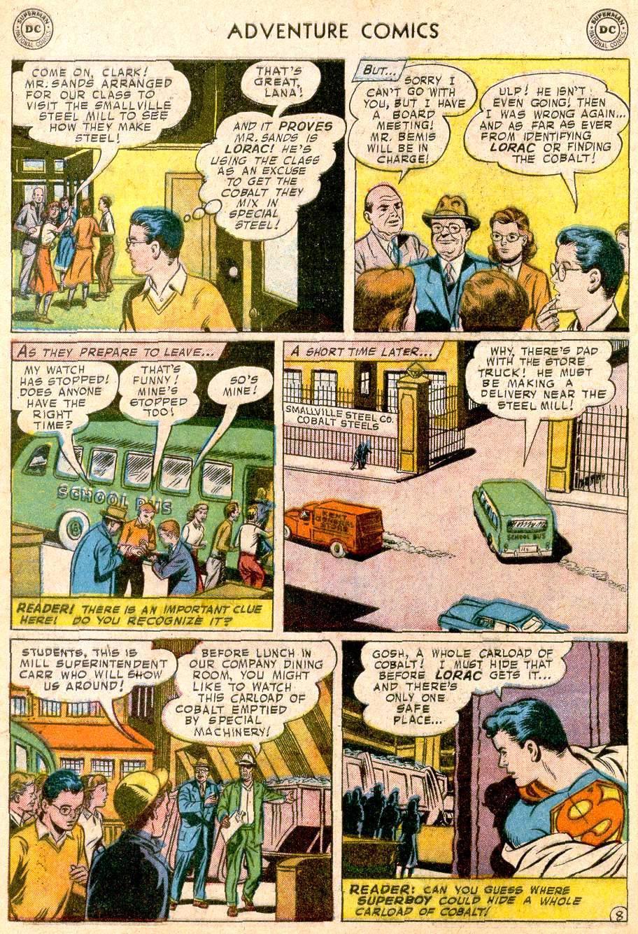 Read online Adventure Comics (1938) comic -  Issue #250 - 10
