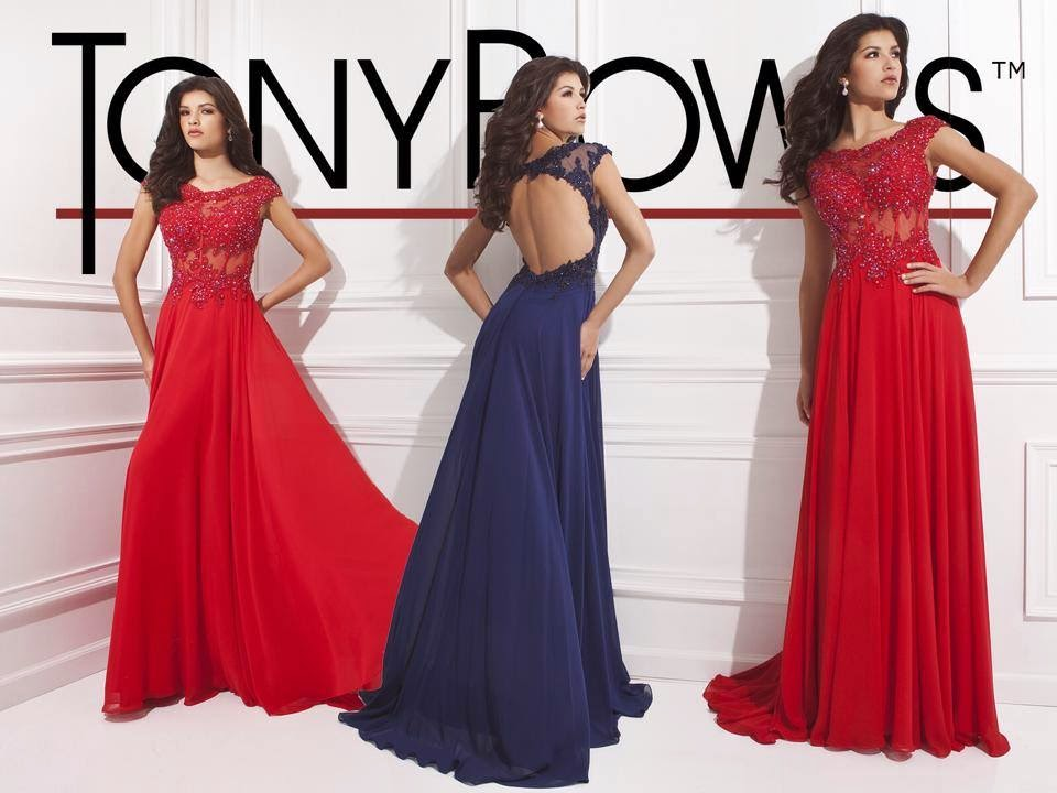 Latest Party Wear Proms & Gowns For Young Girls By Tony Bowls | WFwomen
