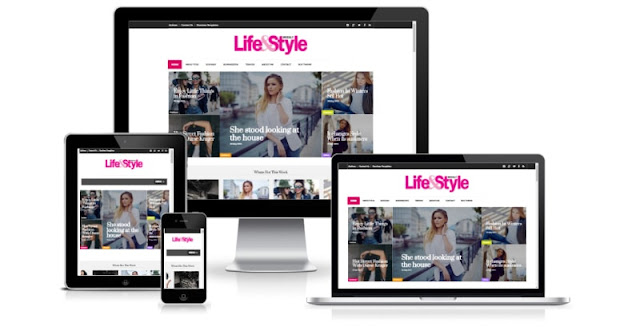 Life&Style Magazine Newspaper Blogger Templates themes
