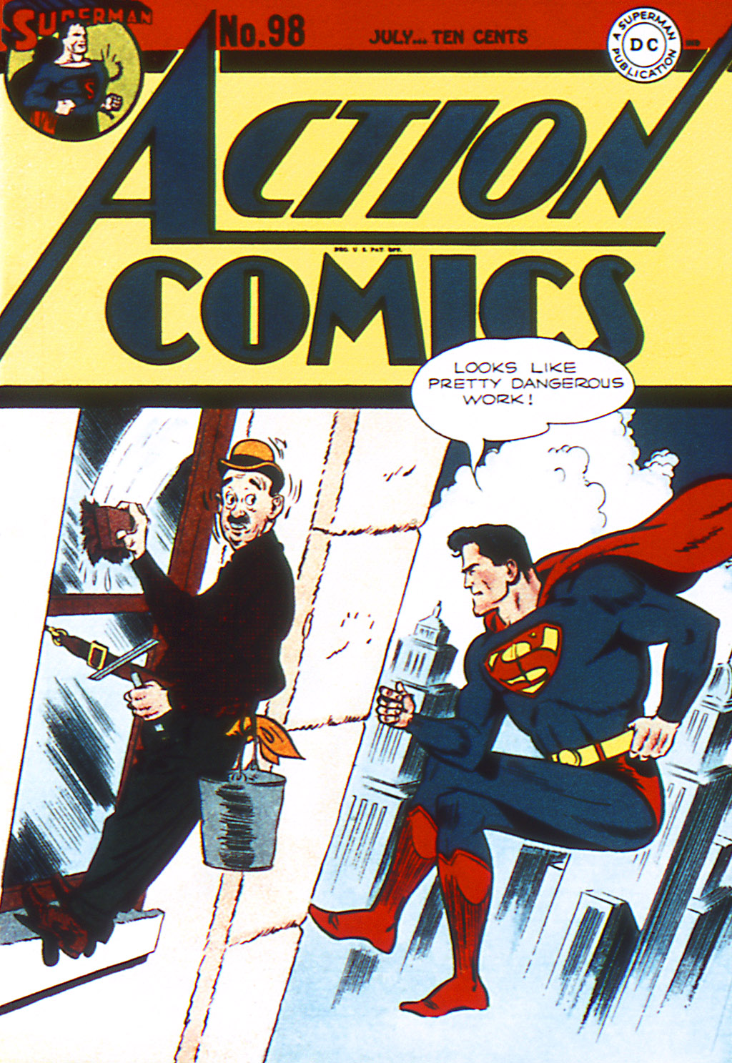 Read online Action Comics (1938) comic -  Issue #98 - 1