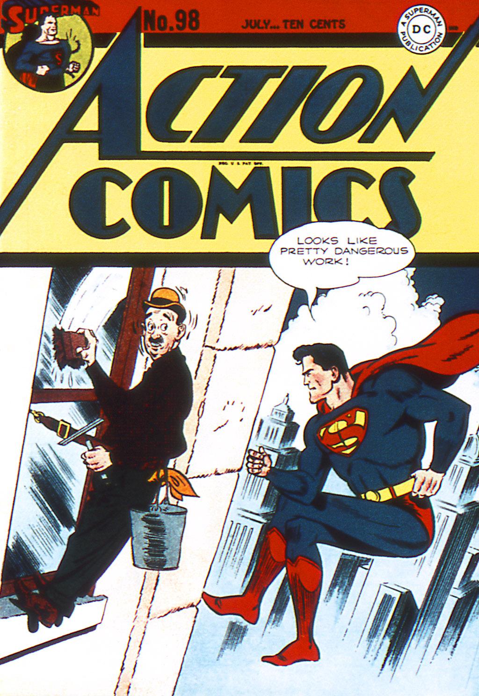 Action Comics (1938) 98 Page 1