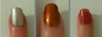 b. miroir! / b. very chic! / cuivre doré / rock N'red  agnès b créateurs de beauté swatches