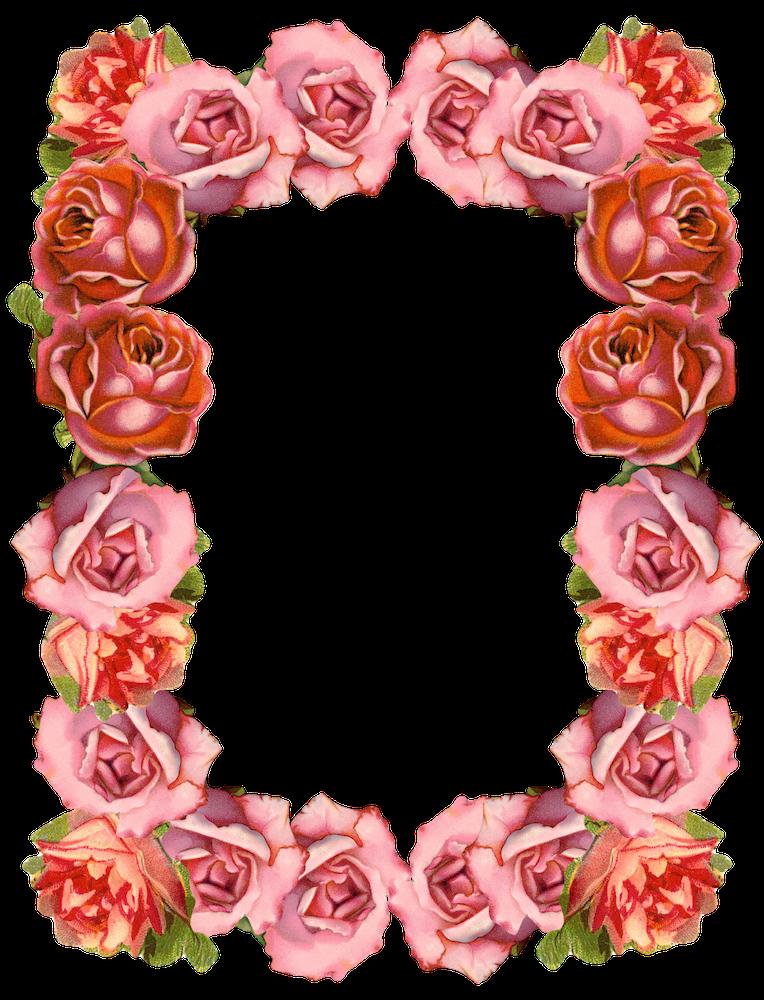 50 Favorite Free Vintage Flower Images!