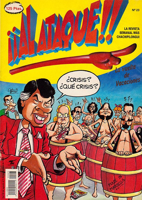 Revista Al ataque Nº 23