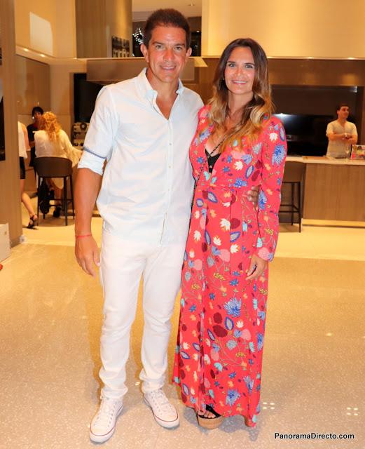 Leo Squarzon y Amalia Granata