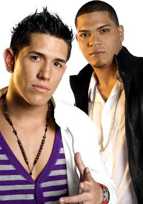 Foto de Dyland y Lenny posando para sus fans