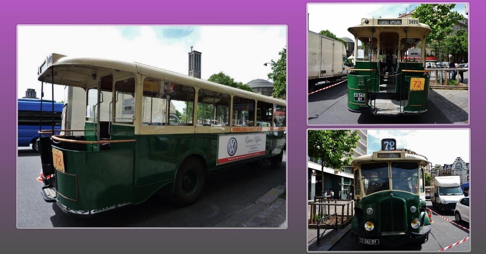 Paris bise art vieux bus la porte de saint cloud 3 - Centre commercial porte de saint cloud ...
