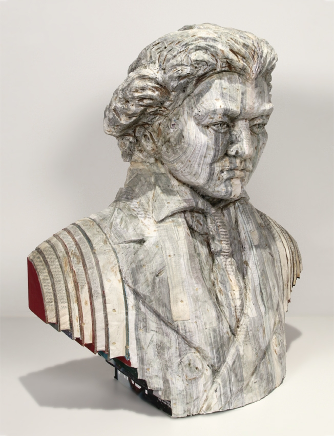 10-Beethoven-Long-Bin-Chen-A-Second-Life-for-Recycled-Book-Sculpting-www-designstack-co