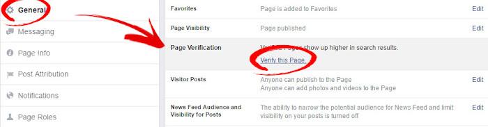 Cara Mendapatkan Verifikasi Fanspage Facebook