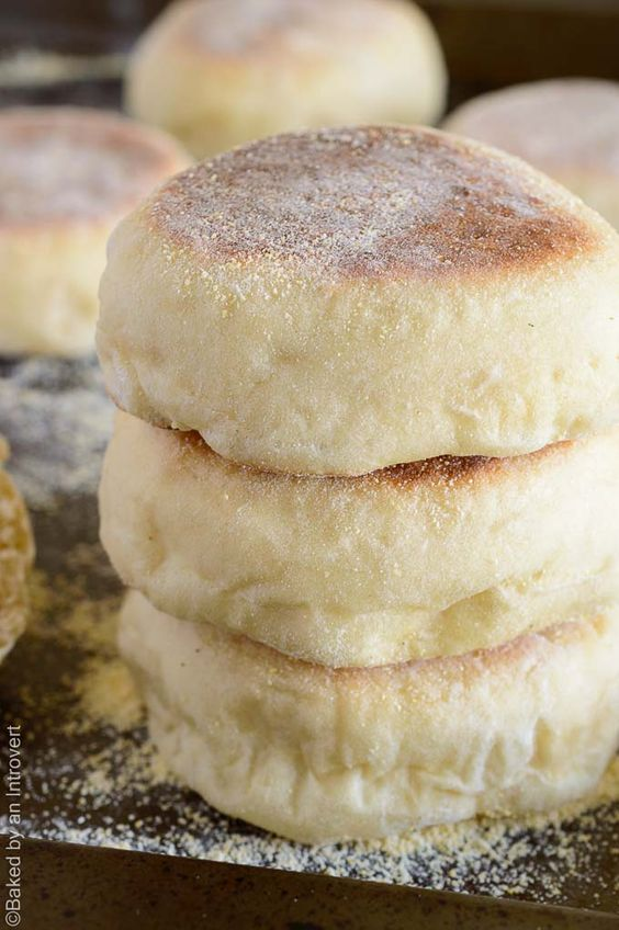 ★★★★☆ 4019 ratings      | Homemade English Muffins #Homemade #English #Muffins #Baked