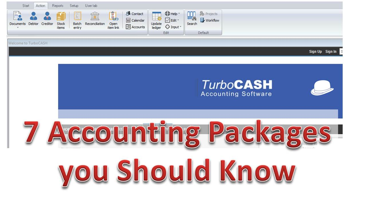 but the fact is this you need to have a good knowledge of small business software accounting packages no irrespective of