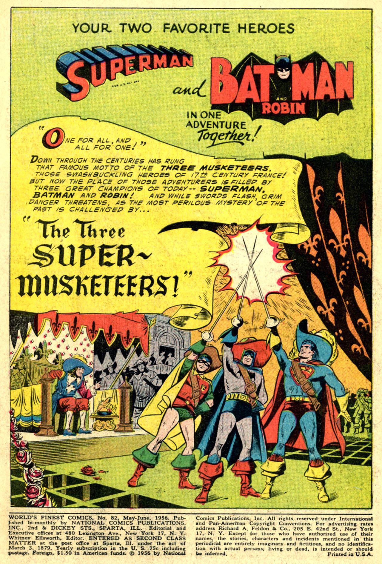 Read online World's Finest Comics comic -  Issue #82 - 3