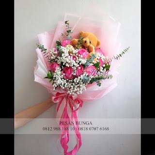 Toko bunga dijakarta, jual bunga valentine, jual handbouquet valentine,