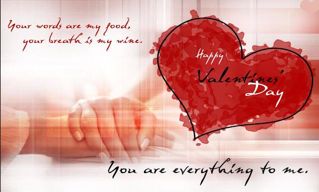 Happy Valentine's Day wishes for friends (boyfriend or girlfriend)