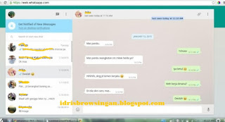 Chat Whatsapp Di PC Atau Laptop