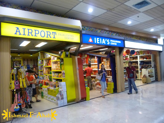 Pasalubong centers in Mactan Cebu International Airport