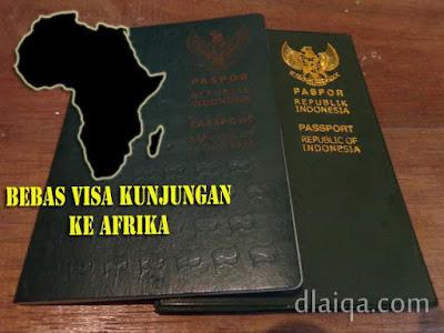 Status Bebas Visa Paspor Indonesia Di Afrika