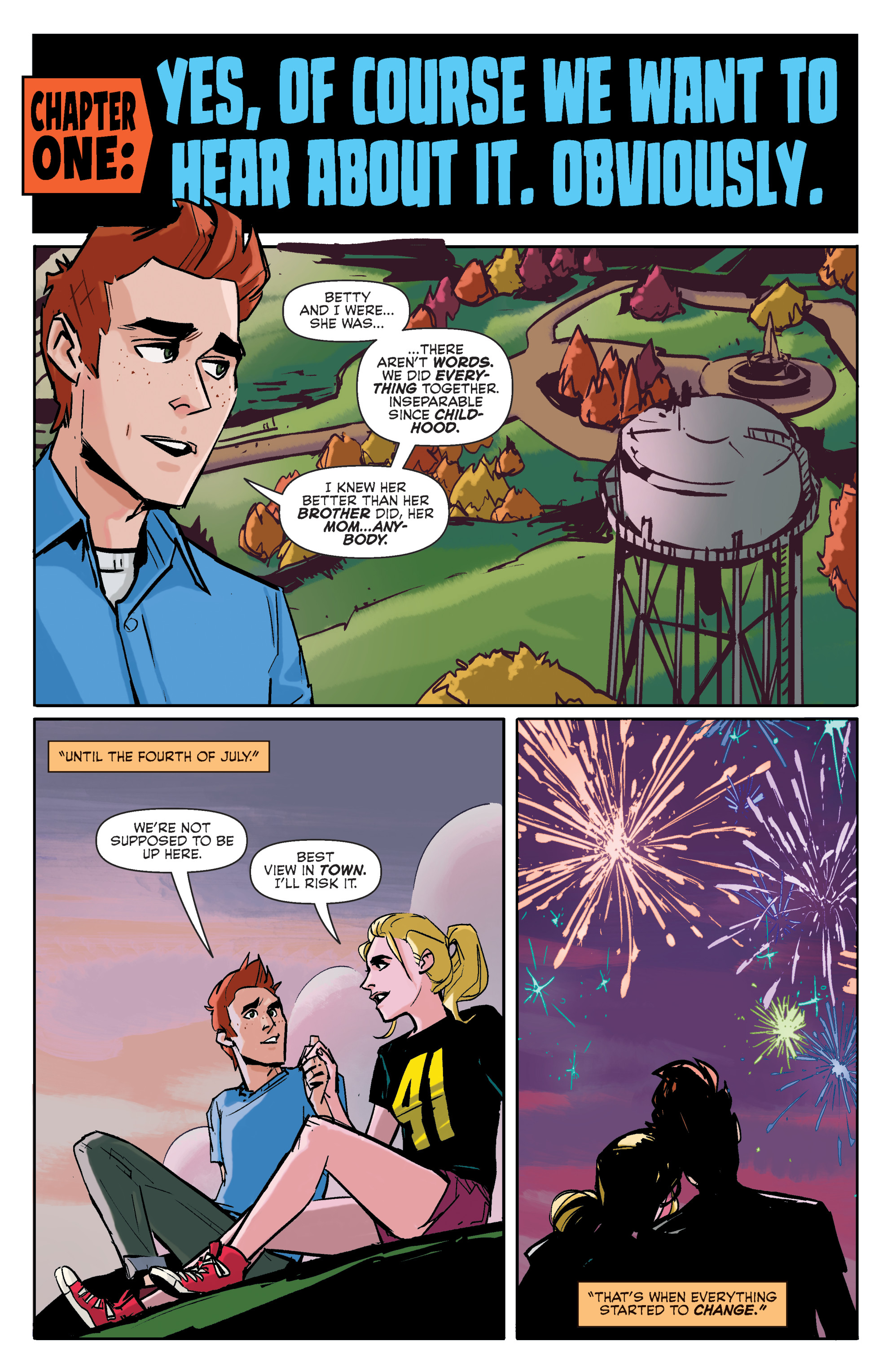 Read online Archie (2015) comic -  Issue #4 - 5