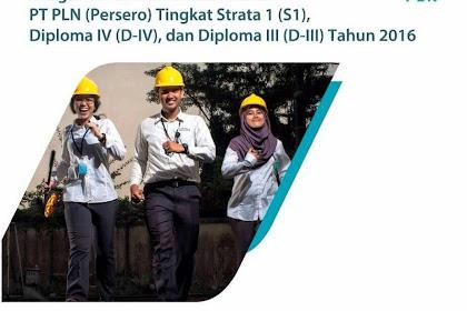 Karir PT.PLN (Persero) - Rekrutmen Umum Tingkat S1,D IV, dan D III Tahun 2016