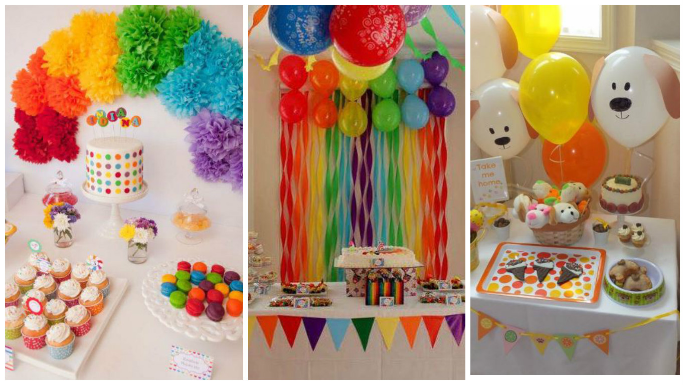 C mo decorar cumplea os infantiles con papel crepe y for Decoracion papeles