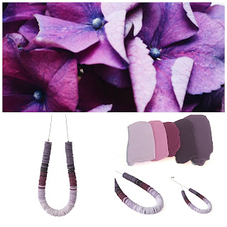 New Purple Beaded Necklace at Lottie Of London Jewellery