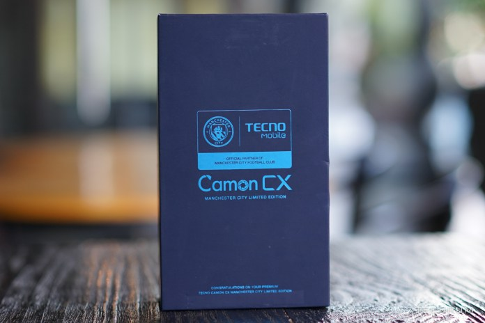 Camon CX Man City Edition Case
