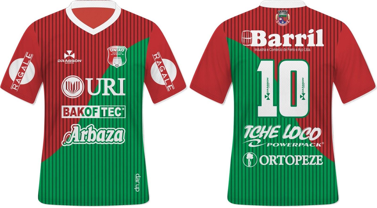 f6dec10d06 Draggon divulga as novas camisas do União Frederiquense - Show de ...