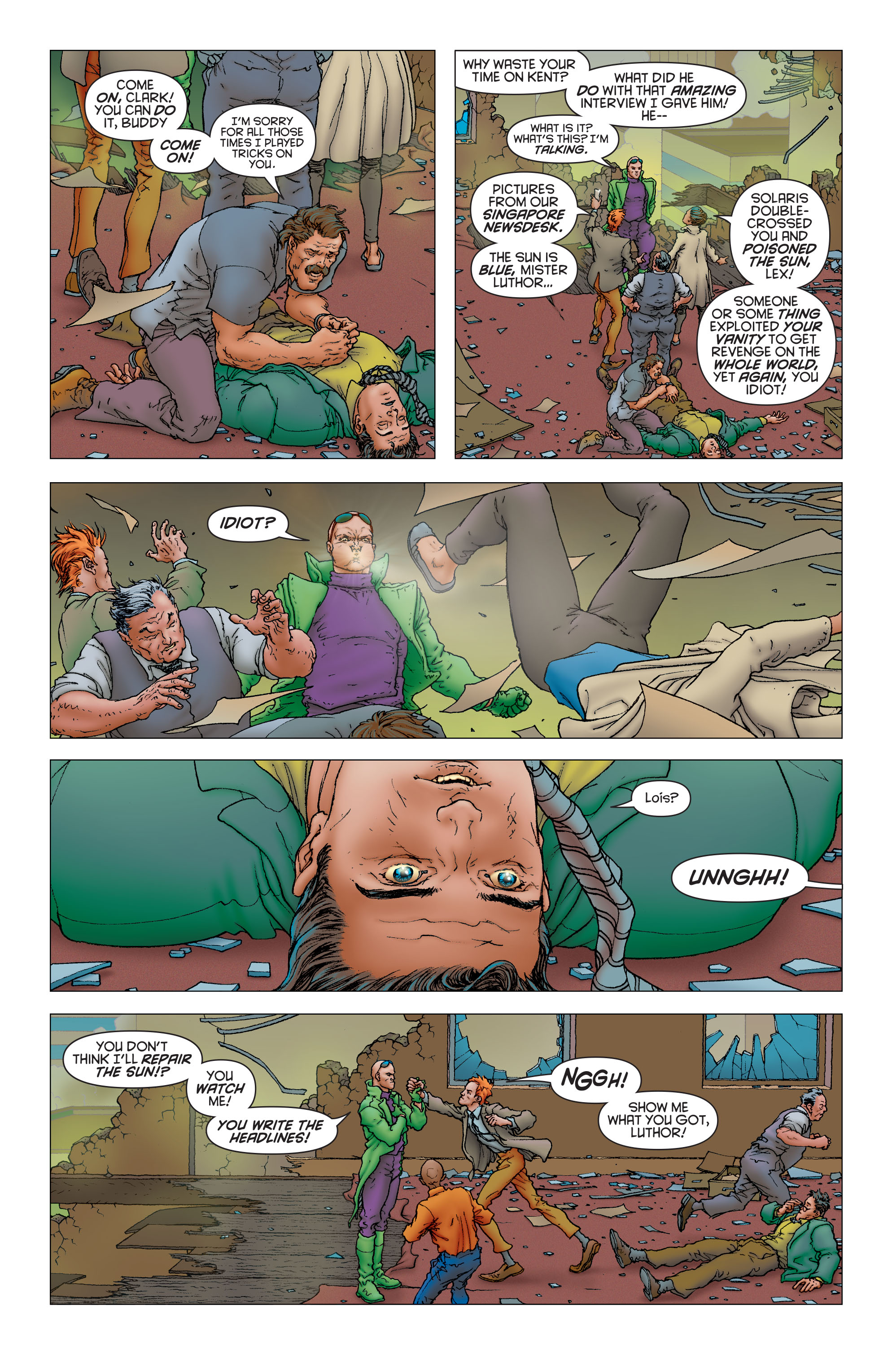 Read online All Star Superman comic -  Issue #12 - 9