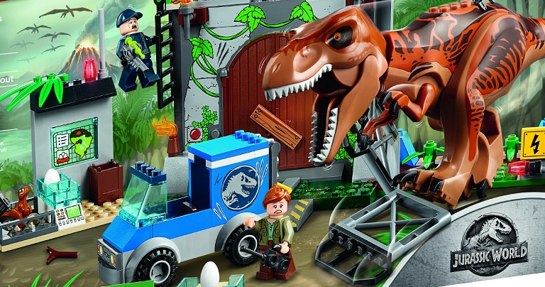 Infinite Earths  LEGO Announces New Jurassic World Assortment     installment of the hugely successful Jurassic Park franchise roars into  theatres with J A  Bayona s Jurassic World  Fallen Kingdom  Now  LEGO has  issued