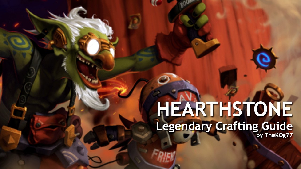 legendary crafting guide mix hearthstone legendary crafting guide 2016 edition 2326