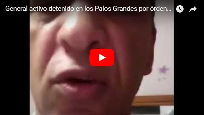 Detenido por órdenes presidenciales un General de Brigada activo