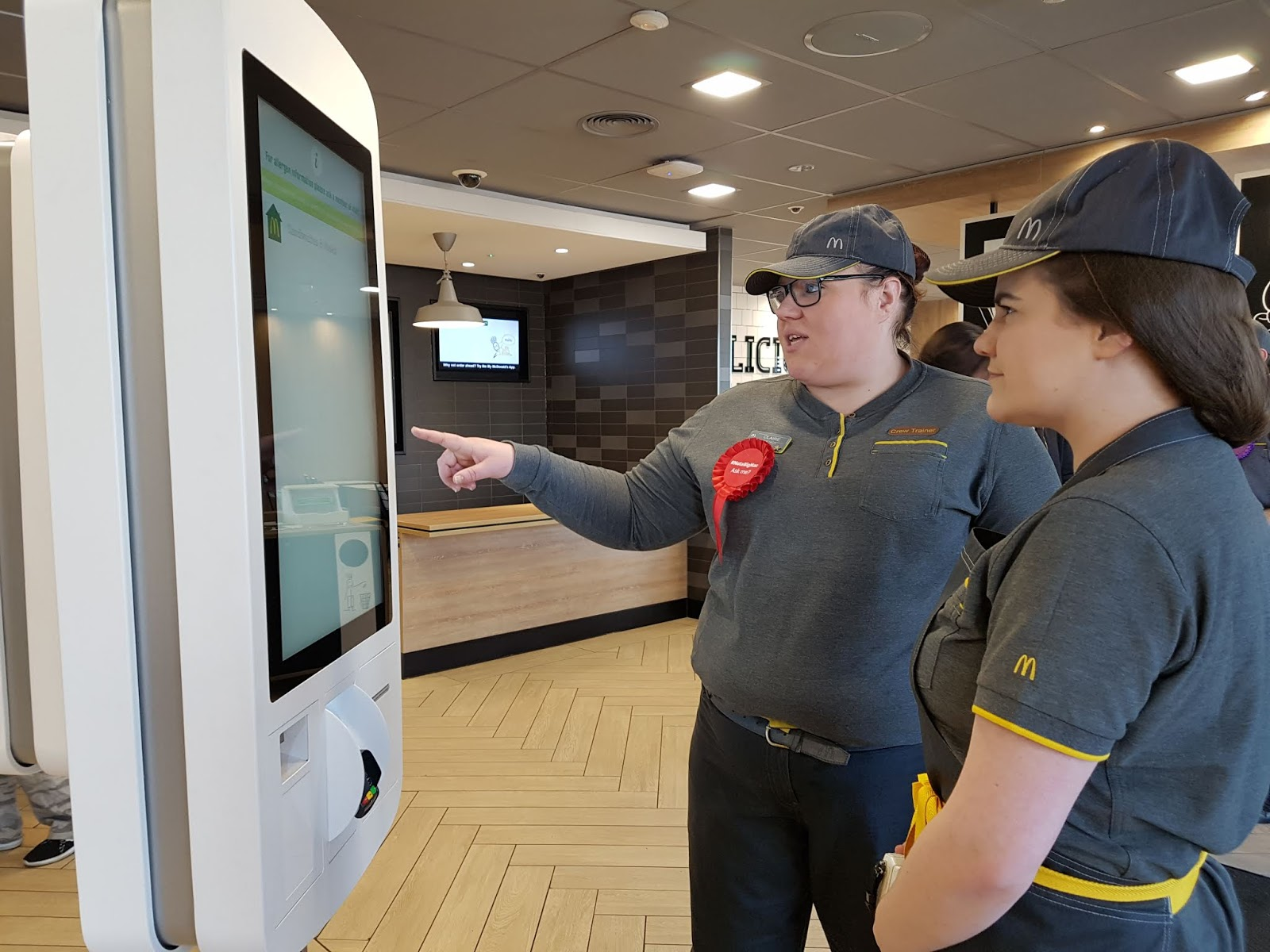 behind the scenes mcdonalds skelton digital kiosk ordering