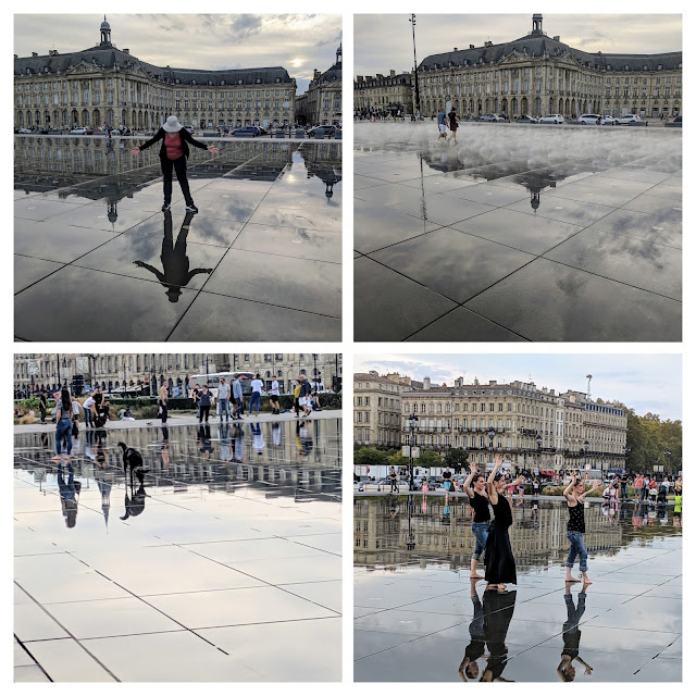 3 days in Bordeaux itinerary: Water Mirror (Le Miroir d'eau)