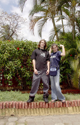 Michael and Hannah Braud in Nicaragua as crew for promo film for Young Life Nicaragua