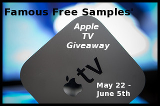 Enter to win the Apple TV #Giveaway, ends June 5th