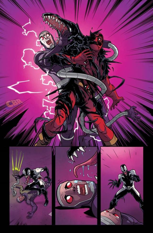 Deadpool se une al simbionte Venom