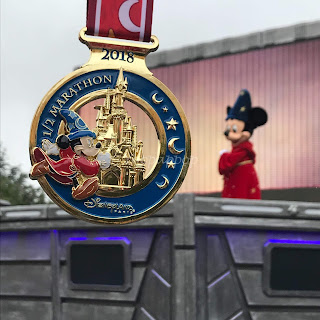 Disneyland Paris Magic Run 2018 Medaille semi