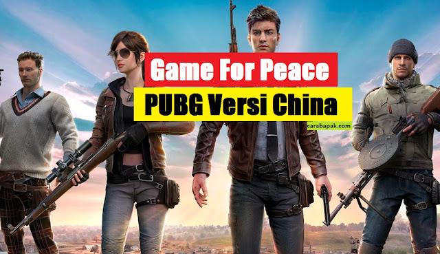 carabapak.com - game for peace apk - Halo anak anaku dimanapun kamu berada. bagaimana kabarnya hari ini ? semoga dalam keadaan sehat selalu. Sudah main PUBG hari ini? Nah ada game baru berkaitan dengan PUBG nih, kabarnya tencent merilis suatu game yang sebenarnya game ini merupakan game PUBG namun di china diganti menjadi Game For Peace. Namanya agak sedikit halus dibanding sebelumnya. Hal ini kabarnya bertujuan untuk menghormati militer di China. Sehingga terdapat beberapa perubahan di dalam game PUBG versi China ini. Adapun beberapa perubahan tersebut, bapak bahas khusus untuk kamu.    PUBG memiliki berbagai versi di seluruh dunia, kali ini tencent merilis game PUBG dengan nama Game fo Peace apk. Game ini dikhususkan untuk dapat dimainkan di negara tiongkok atau china. Tidak heran jika di semua instruksi dalam game berbahasa mandarin.       Perubahan nama game PUBG menjadi game for peace ini merupakan strategi branding yang sangat unik. Pasalnya beberapa bulan ke belakang nama PUBG sendiri bukan hanya populer dengan permainannya di kalangan player, namun juga dengan segala kontroversinya. Dengan adanya kejadian berdarah di Selandia Baru beberapa waktu lalu membuat nama PUBG semakin tercoreng. Pasalnya pelaku peristiwa berdarah tersebut di duga terinspirasi dari game PUBG untuk melakukan aksinya tersebut.    Akibat dari peristiwa tersebut, PUBG dikaji secara khusus oleh beberapa negara di dunia. Tak terkecuali dengan negara tirai bambu yaitu China/Tiongkok. China/Tiongkok secara on the way akan melarang dan memblokir game PUBG ini. Salah satu alasannya adalah terdapat efek visual darah yang semestinya tidak harusnya di tunjukkan dalam permainan. Selain itu, terdapat kasus seorang anak di china melompat dari gedung lantai 4 dan setelah dikonfirmasi bahwa anak tersebut meniru adegan pada game PUBG.     Dengan beberapa alasan tersebut, membuat PUBG tidak di untungkan dalam hal branding. Oleh karenanya mengubah nama PUBG menjadi Game For Peace  merupakan strategi yang 