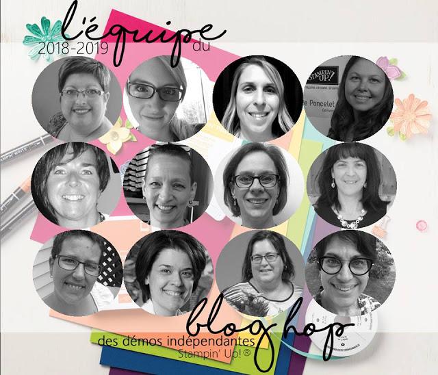 blog hop des démonstratrices francophones du Québec