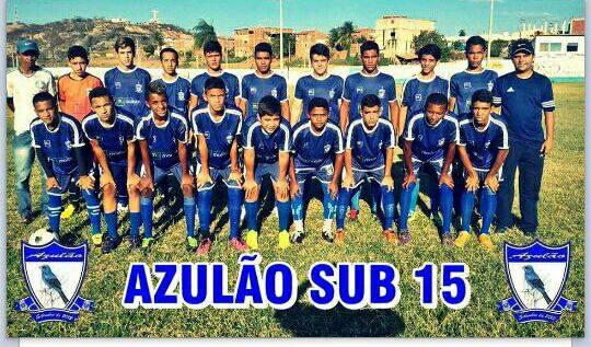 5688b8b39 Azulão de Pombal vem se destacando na Copa Paraíba de Futebol Sub-15 e está  nas semifinais